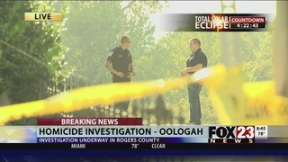 Woman found shot in Rogers County