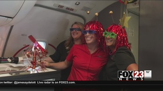 Tulsa man gets unique look at celestial event during special eclipse flight