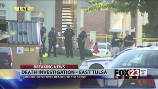 Woman stabbed to death in east Tulsa apartment