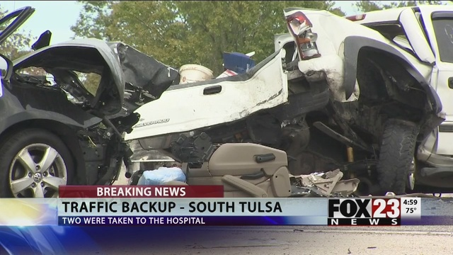 Highway 169 Crash: The Latest from South Tulsa | FOX23