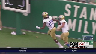 Tulane blows out Tulsa 62-28 for Fritz