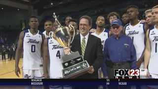 Etou scores 30 for Tulsa in 90-71 win over Oral Roberts