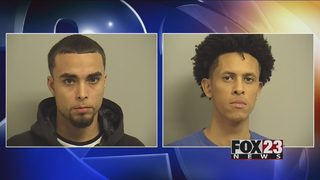 VIDEO: Tulsa robbery suspects arrested