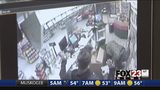 VIDEO: Surveillance footage reveals moments before Tulsa convenience store clerk bargained with robbery suspects