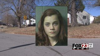 Woman arrested after Sand Springs shootout