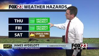 Cooler temps Thursday and Friday