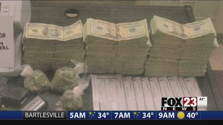 Deputies find $39,000 cash in Rogers County drug bust