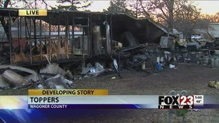 Six-month-old killed in fire at Wagoner County mobile home