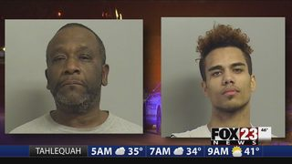 Police ID two suspects in Tulsa stolen car chase