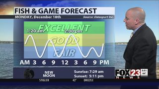 FOX23 Fish and Game Forecast for 12/18