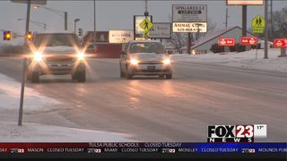 VIDEO: Snow and ice in Coffeyville