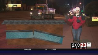 VIDEO: Cold weather and water main breaks