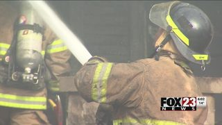 VIDEO: Cold weather keeps Tulsa firefighters on the run