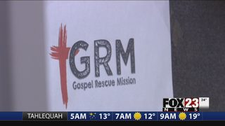 Muskogee Gospel Rescue Mission seeks donations as they work to keep people safe from cold