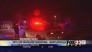 Woman dies, 2 officers injured in Bartlesville officer-involved shooting