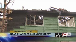 Children treated for injuries, families displaced after Muskogee apartment fire