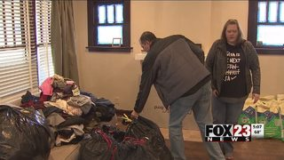 Hundreds of coats donated in Outsiders House drive