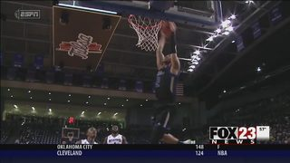 Jeffries leads Tulsa to 64-51 win over cold-shooting Memphis