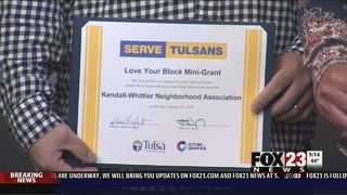 Tulsa neighborhoods get revitalization grants, new volunteer site launched