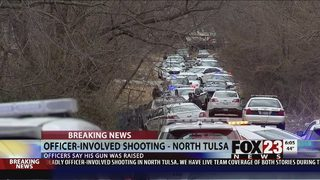 VIDEO: Man dead after officer-involved shooting in north Tulsa
