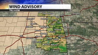 Wind Advisory issued for windy and dry day
