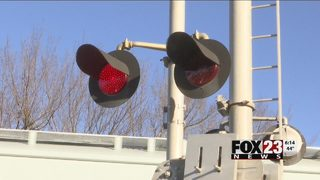 Claremore creates quiet zone by closing street near railroad crossing