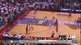 Slumping Sooners lose at Texas Tech