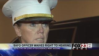 Broken Arrow detective resigns, waives right to hearing concerning missing evidence in Bever case