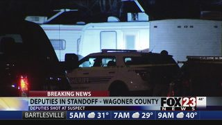 Deputies involved in Wagoner County standoff