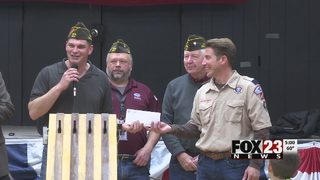 Tulsa VFW donates to Cub Scout troop to help with stolen trailer