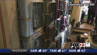 VIDEO: Animal rescue wants to help pets involved in Green Country hoarding case