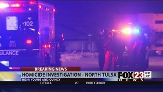 Police investigate north Tulsa shooting death