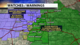 Winter Weather Advisory and Flood Watch both issued for Tuesday