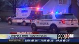 VIDEO: Tulsa robbery suspect in hospital after shooting