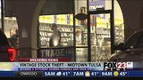 Man pulls handgun, takes game console from midtown Tulsa Vintage Stock store