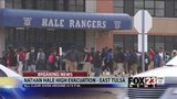 VIDEO: Students return to class after evacuation at Nathan Hale High School
