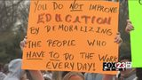 VIDEO: Students walkout at Sand Springs schools