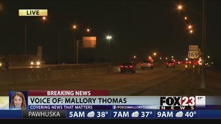 Crash impacts Tulsa traffic on Highway 169