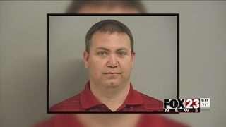 Broken Arrow man accused of taking photos up Walmart customer
