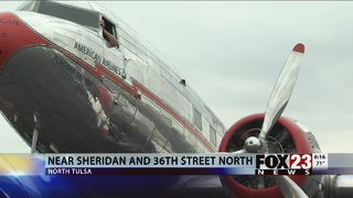 "VIDEO: Historic ""Flagship Detroit"" on display at Tulsa Air and Space Museum"