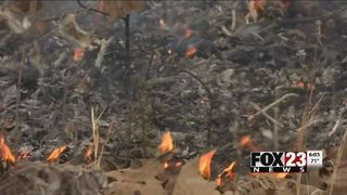 Officials: 6 Okmulgee County fires believed to be set intentionally Thursday