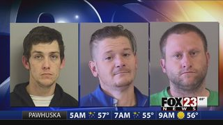 Police arrest two accused of Glenpool car burglaries