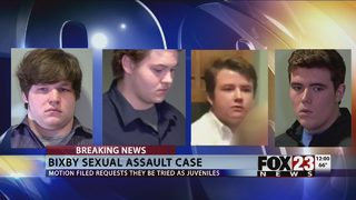 Bixby lawyers ask for case to move to juvenile system