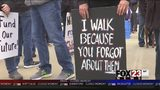 VIDEO: Education rally held Sunday in Broken Arrow's Rose District