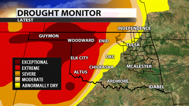 Western Oklahoma Wildfires: Updates, Fire Reports, How To Help ...