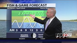 FOX23 Fish & Game Forecast for 4/23