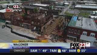 Brewery plans on tap for downtown Wagoner as crews rebuild after area fires