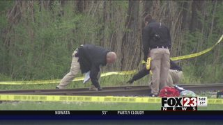 VIDEO: Police investigate homicide after man found shot near Jenks High School