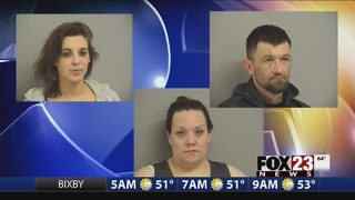 VIDEO: Police arrest three accused of stealing from Sand Springs Walmart