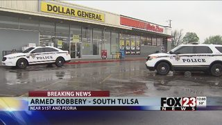 Police investigate armed robbery attempt at south Tulsa Dollar General